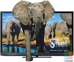 "Sony 55"" 3D LED TV BRAVIA KDL55EX720"