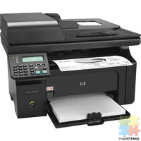 HP LaserJet Pro M1212NF All-In-One Laser Printer