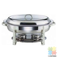 New stock just arrived....brand new oval chafing dish