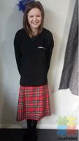 Full girls linwood college uniform.