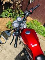 Yamaha 250cc manual motorbike