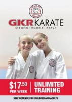 Karate - GKR Karate - Free Trial Class Available - West/North Auckland