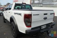 2019 Ford Ranger Raptor 2 .0D/4W/D,10 Speed Auto